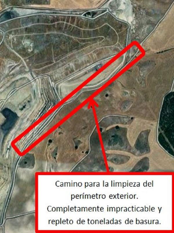 La Mancomunidad del Sur pretende elevar la altura de la basura acumulada en el vertedero de Pinto hasta los 659 metros de altura