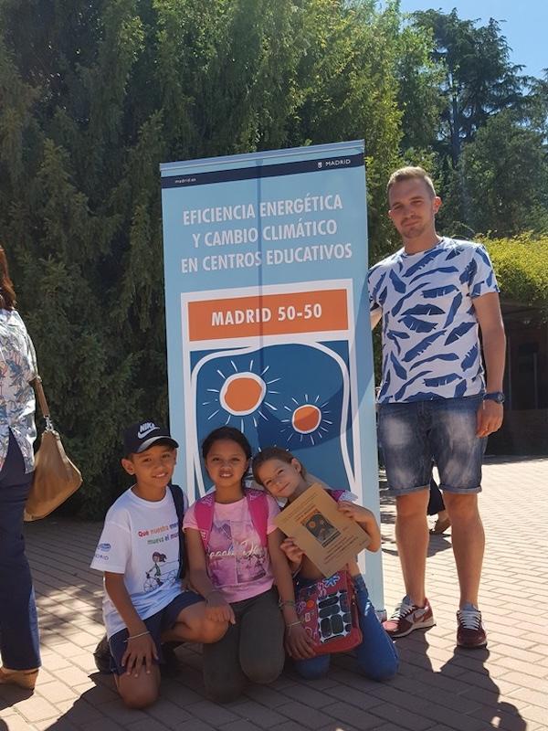 Madrid entrega los premios al 'Ahorro, eficiencia energética y cambio climático' a escolares