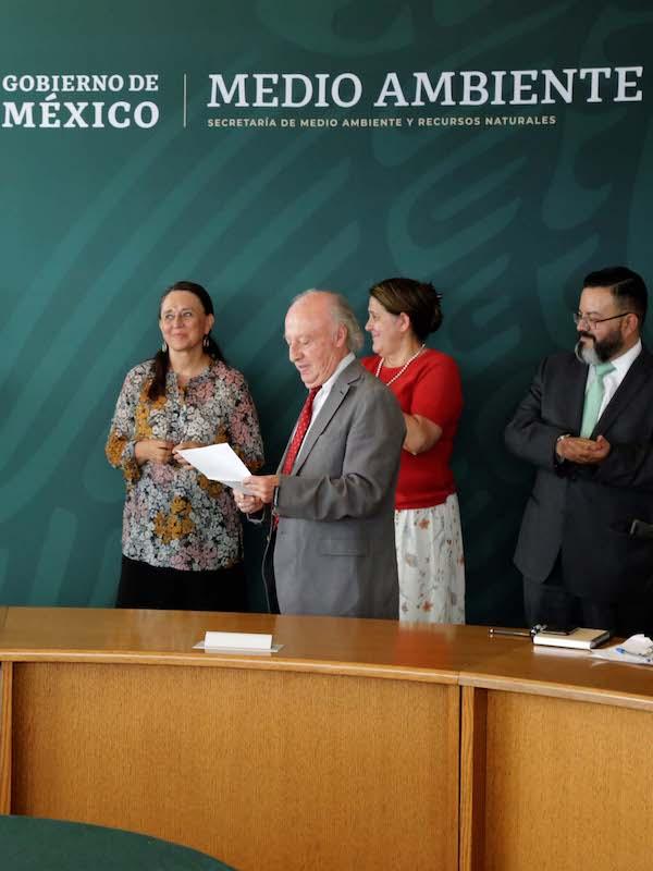 Toledo Manzur anuncia nombramientos en la SEMARNAT