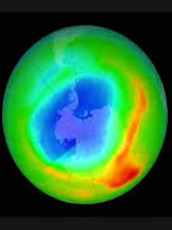 El agotamiento del ozono impulsa el calentamiento en el Hemisferio Sur