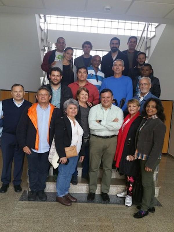 Técnicos de Cuba y Costa Rica visitan el Complejo Medioambiental de Sogama (Galicia - España)