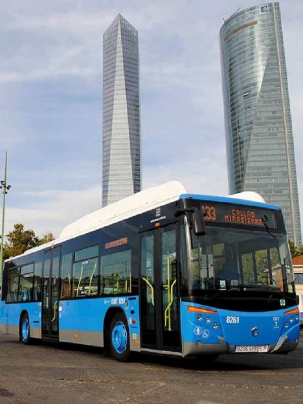 Efibús en Madrid: más seguridad a bordo, menos contaminantes, mayor ahorro energético