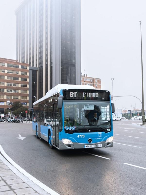 Madrid compra más de 1.200 autobuses cero emisiones o de bajas emisiones