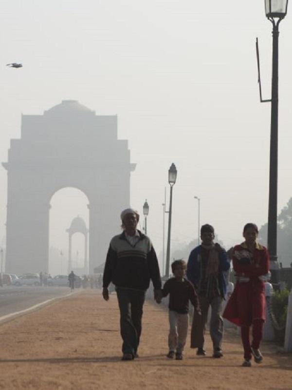 Nueva Delhi, TOP mundial de la contaminación