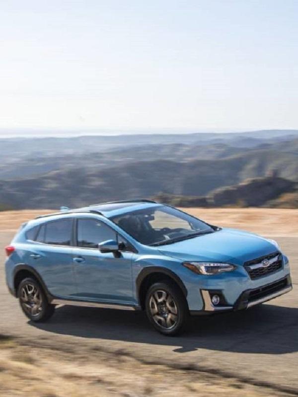La gama híbrida de Subaru