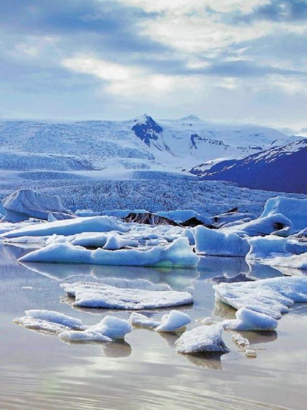 La lluvia en Groenlandia desata eventos de fusión en pleno invierno
