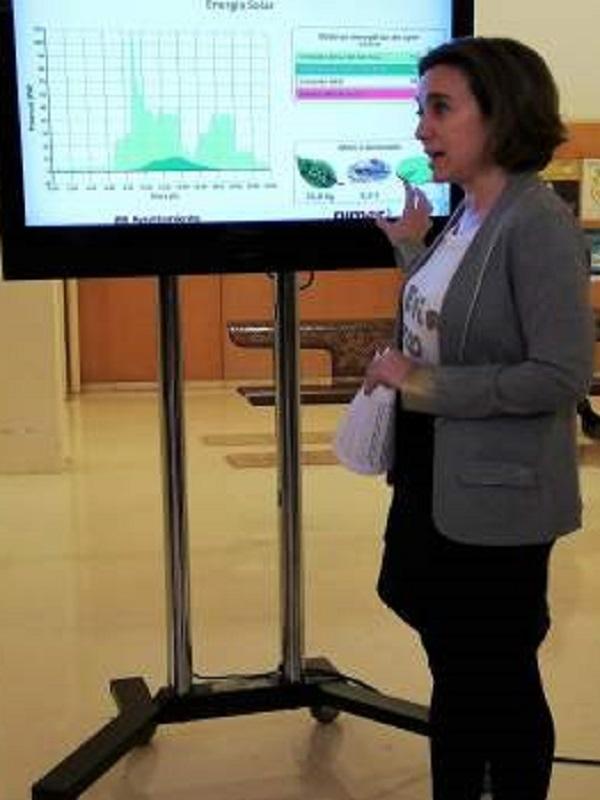 Innovador sistema de pantallas informa en tiempo real del consumo energético de cinco edificios municipales de Logroño