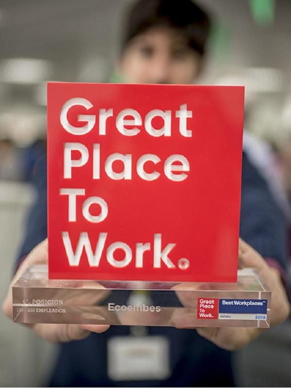 Ecoembes, una buena empresa para trabajar, y una labor encomiable