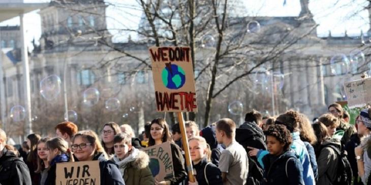 Huelga y manifestación contra el cambio climático este viernes en Salamanca