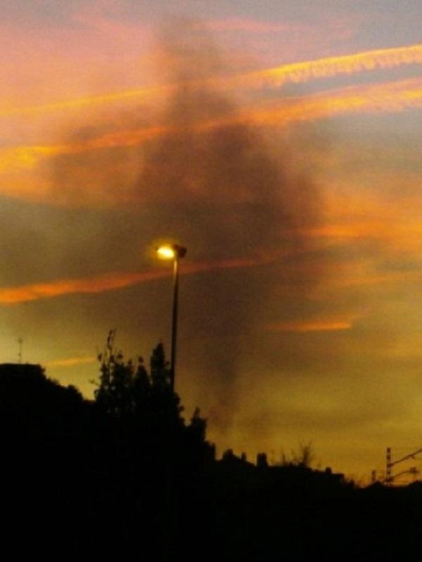 Asturias. Por segunda día se dispara de noche la contaminación en Gijón