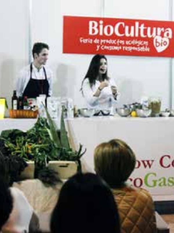 Concurso de jóvenes promesas de la cocina en BioCultura Sevilla 2019