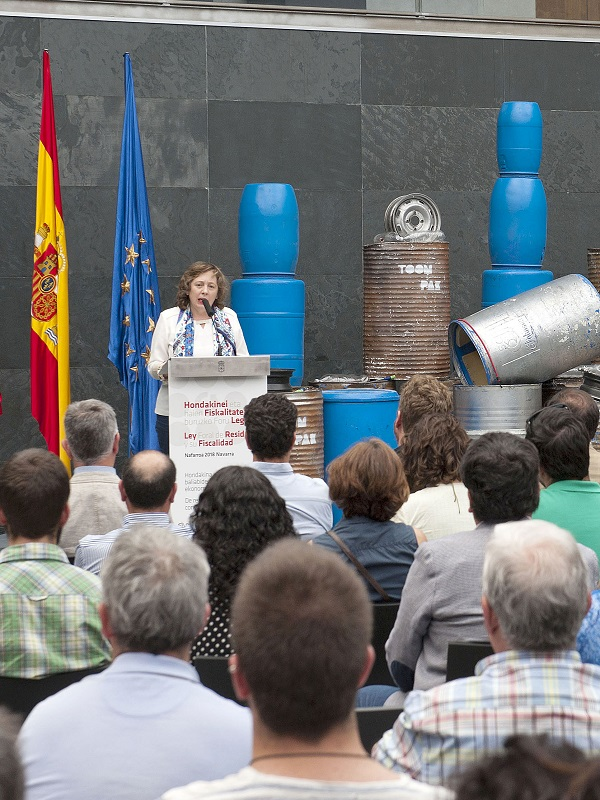 Prosigue la agria polémica en Navarra a cuenta de la 'Ley de Residuos'