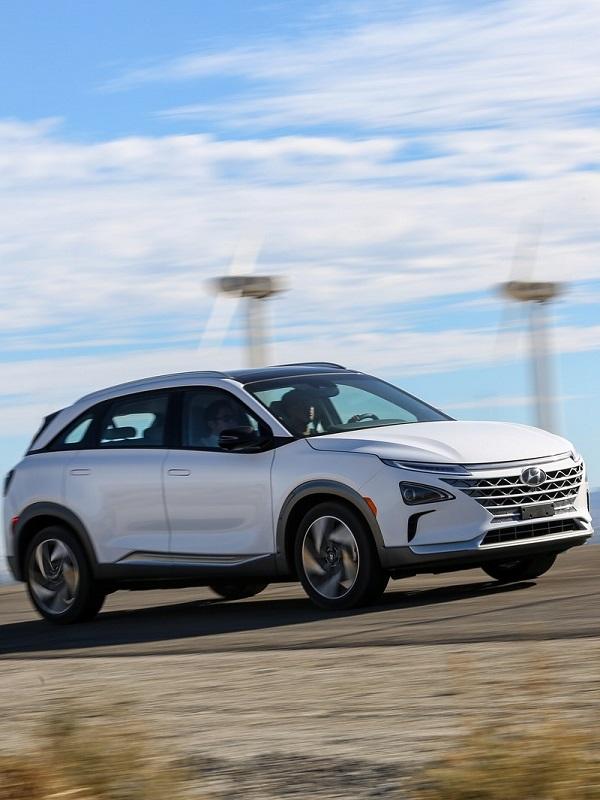 Hyundai Nexo, propulsado por hidrógeno