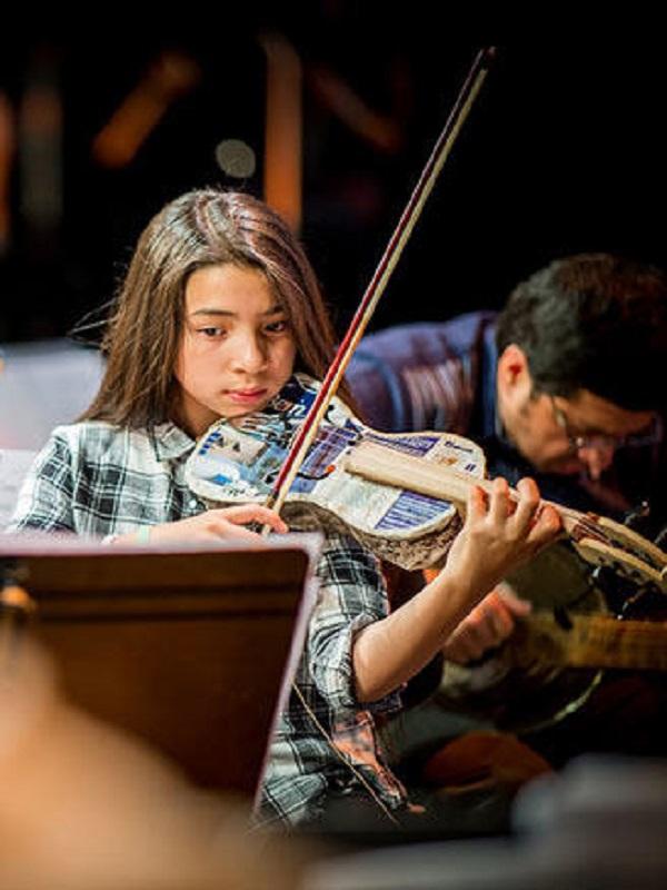 """Música para el reciclaje actuará en """"Chiqui Somos"""" organizado por la Fundación Botín"""
