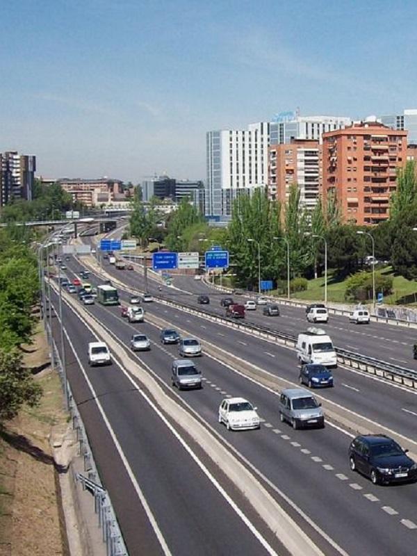 Las mayores emisiones provienen de las carreteras del corredor del Mediterráneo