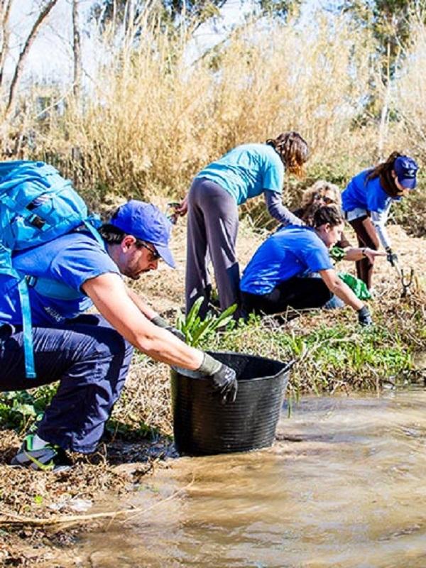Cerca de 5.400 voluntarios recogieron 30.401 residuos abandonados en entornos fluviales en marzo en 159 puntos de España