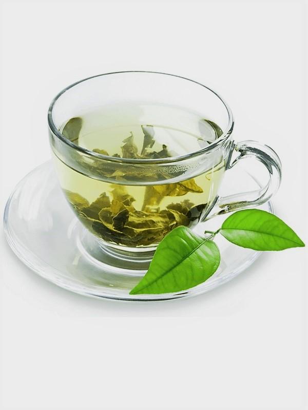 Té verde, sano y saludable