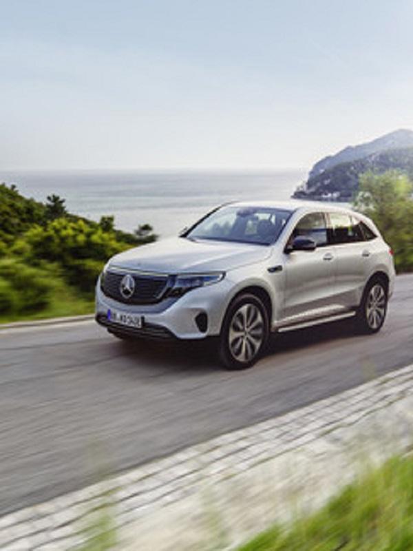 Mercedes-Benz presenta el primer modelo de su nueva marca de coches 100% eléctricos