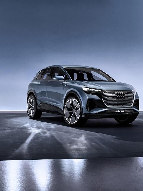 Audi ultima el Q4 e-tron