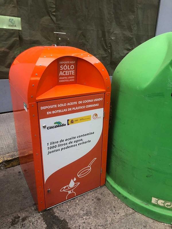La Comarca de Cinca Medio comienza a instalar contenedores de aceite doméstico