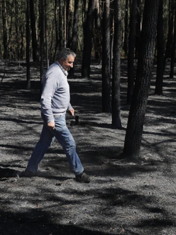 El Gobierno destina casi 500.000 euros a restaurar zonas afectadas por el fuego en Rianxo y Dodro (A Coruña)
