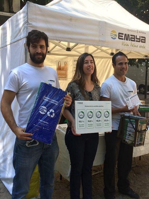 Palma de Mallorca, record de recogida selectiva en abril