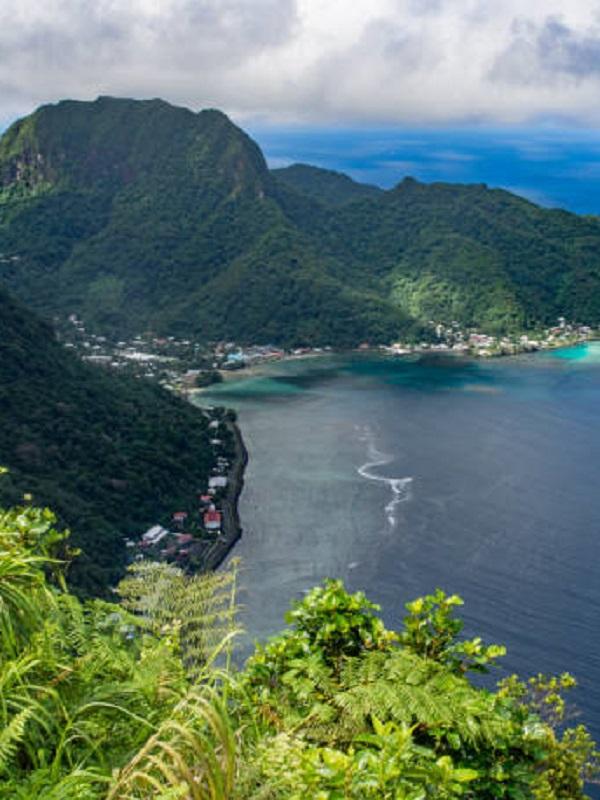 La isla que se hunde a pasos agigantados en el mar por un terremoto