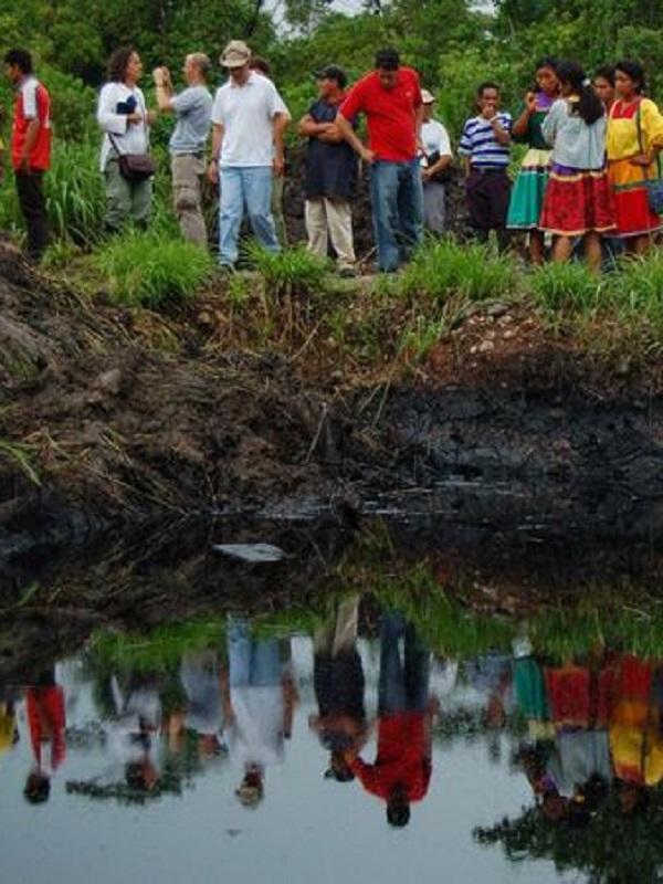 Día de Acción Global contra la petrolera Chevron