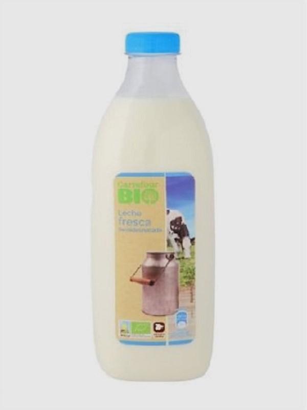La primera leche BIO de Carrefour
