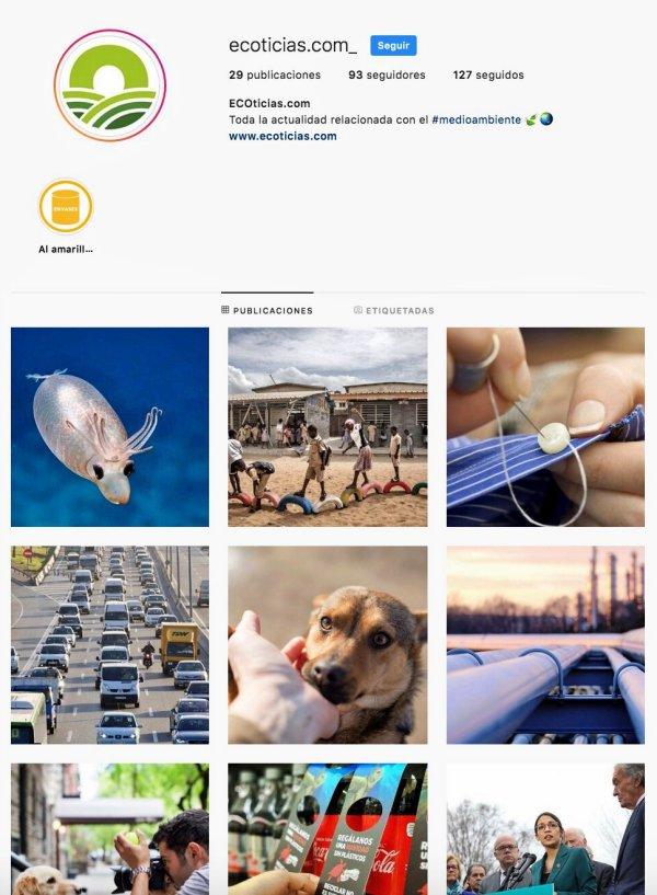 ¿Eres 'instagrammer'? Ahora puedes seguir a ECOticias.com desde INSTAGRAM, no te lo puedes perder de ninguna manera!