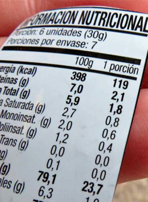 Nuestra salud y bienestar despenden de interpretar correctamente el etiquetado de los productos