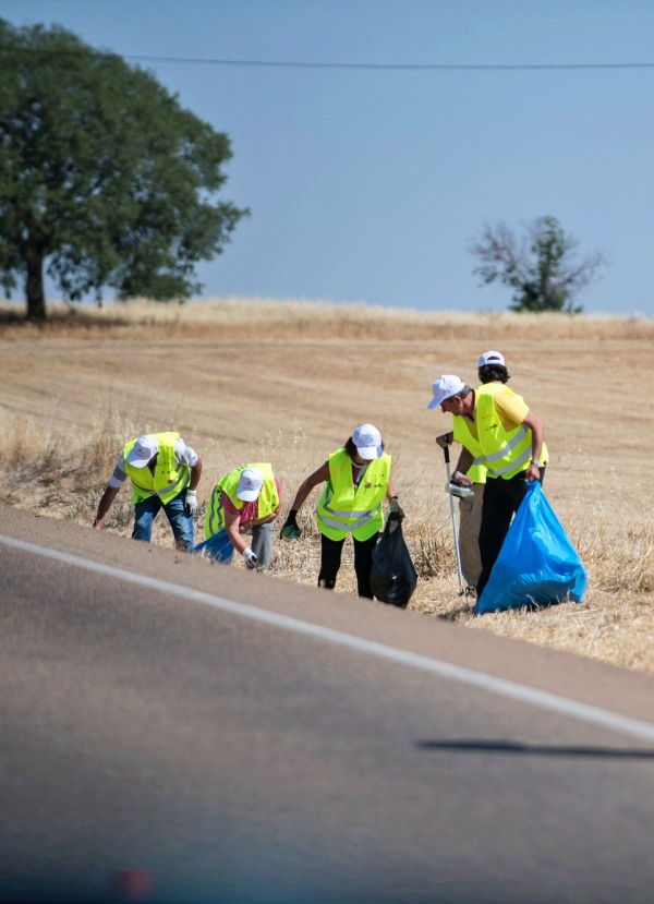 Carreteras limpias de basuraleza