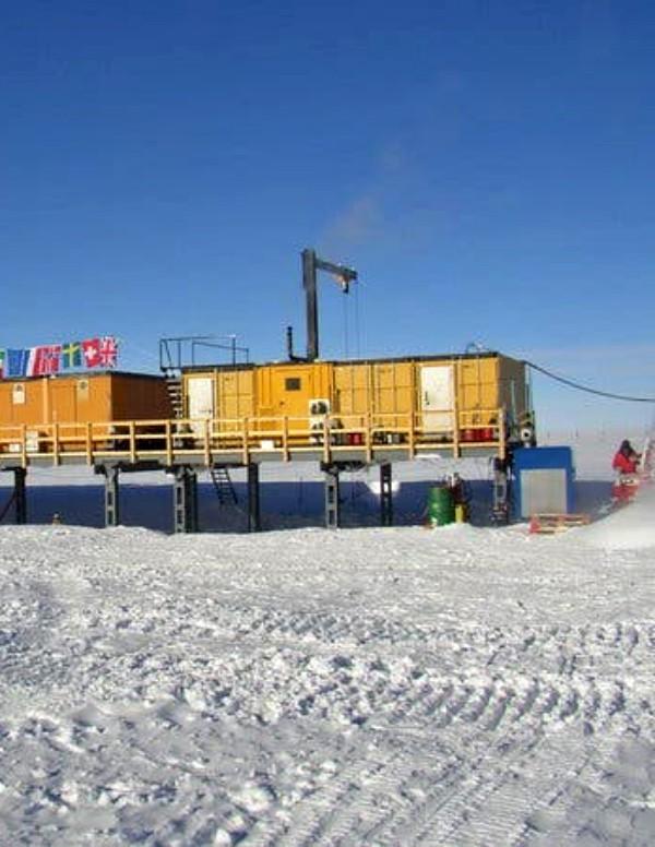 Polvo de supernova en la nieve de la Antártida