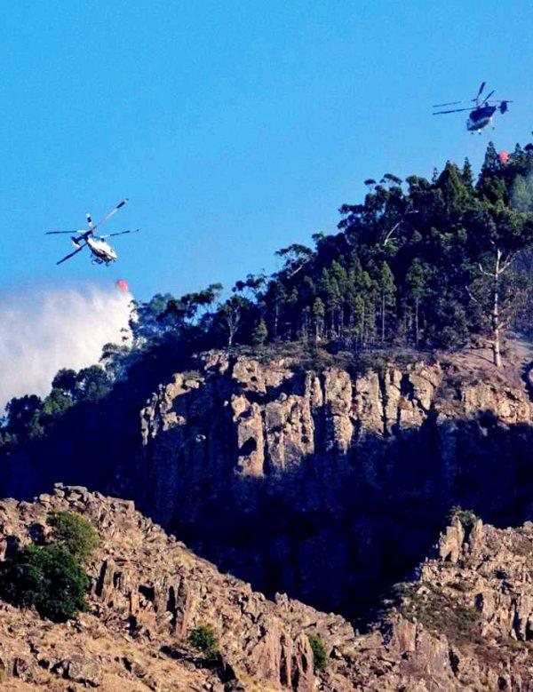 Gran Canaria. Tras más de 10 mil hectáreas arrasadas, el incendio empieza a 'estabilizarse'
