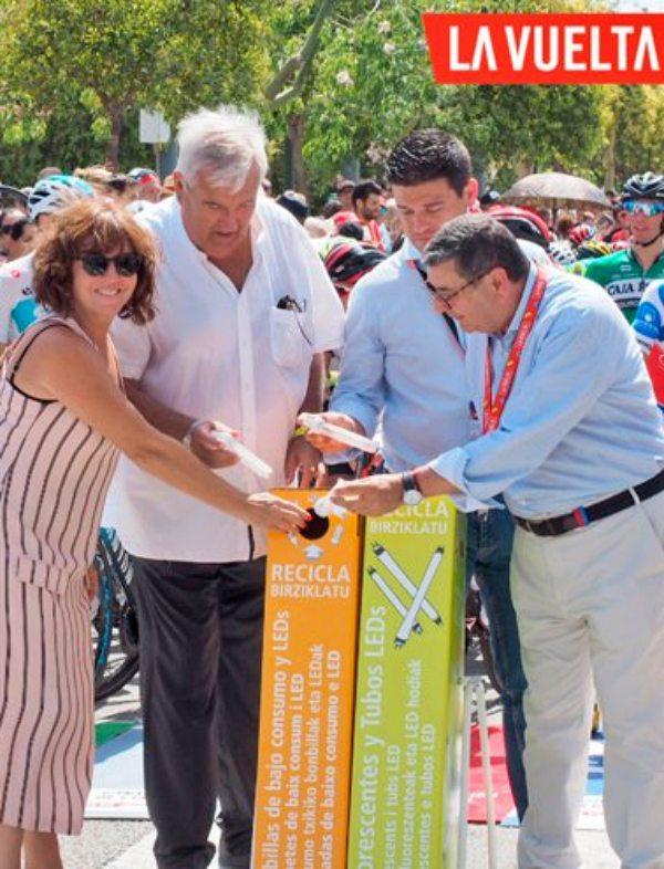 AMBILAMP 'protagonista' de la Vuelta Ciclista a España 2019