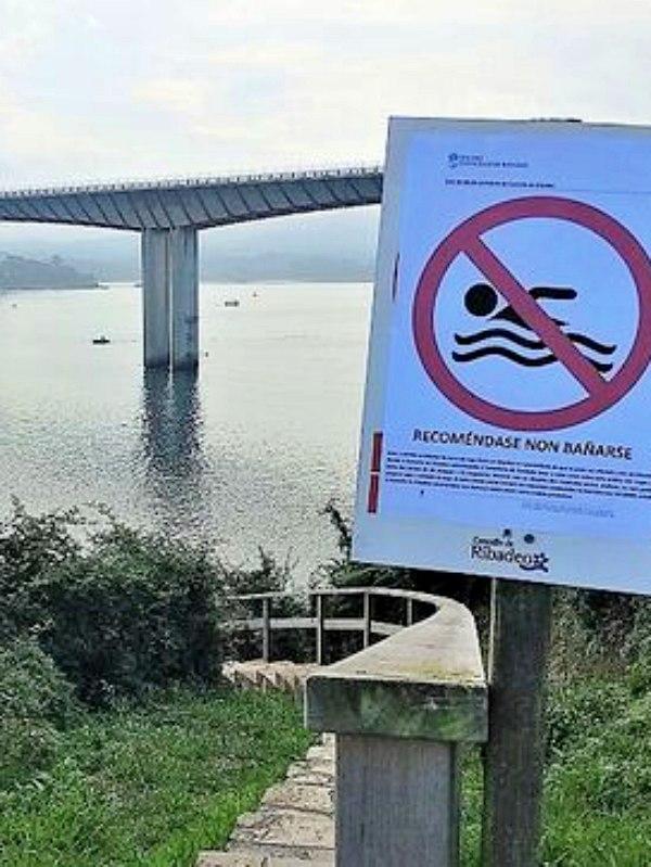 El vertido al rio Eo no afectará al suministro de Trabada (Lugo)