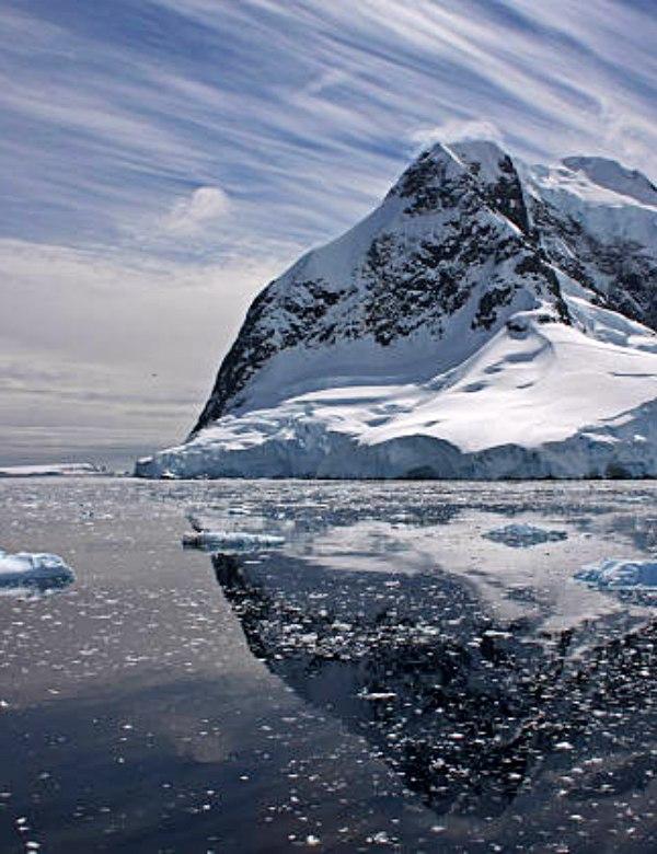 Los océanos en la Península Antártica Occidental absorben ingentes cantidades de CO2