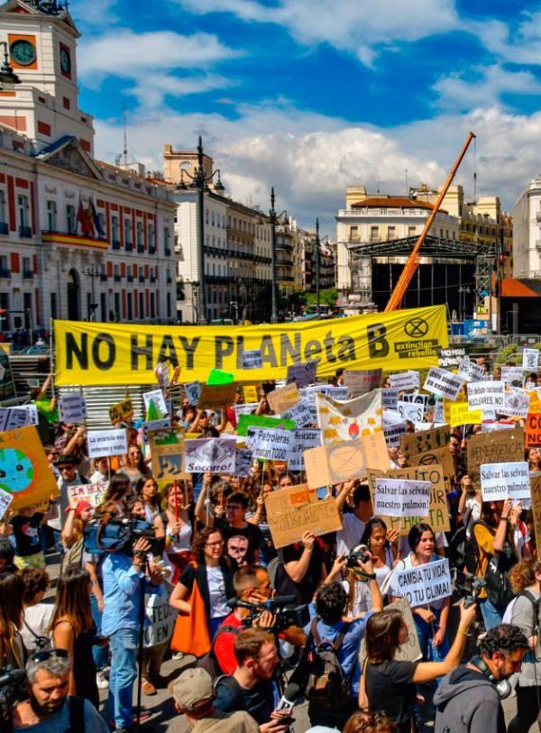 Huelga Mundial por el Clima el próximo 27 de septiembre, ¿te unes?