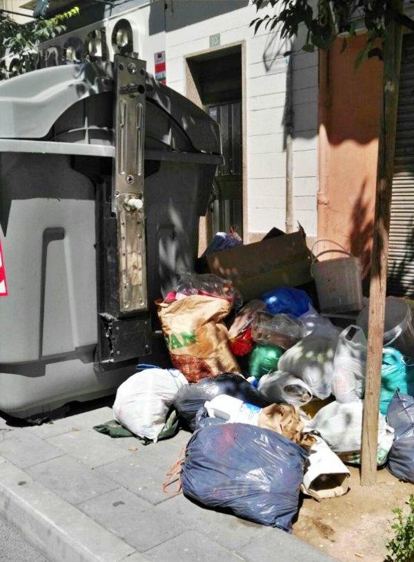 Alicante 'se juega' una multa por mala gestión de residuos