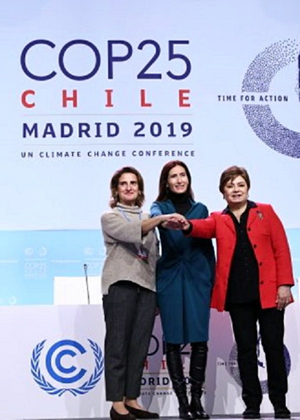 Hoy arranca la COP25 Chile - Madrid