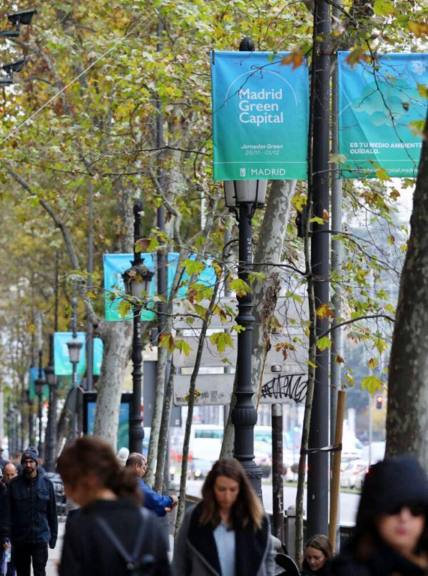 Madrid se viste de 'verde' para dar la bienvenida a la COP25 Chile – Madrid
