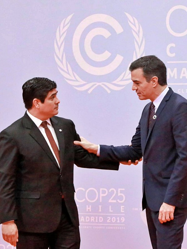 Costa Rica, primer país con mix energético neutro alza la voz en la COP25 Chile - Madrid