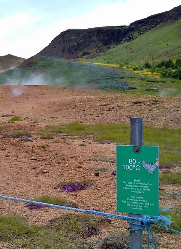 Islandia un ejemplo claro y terrenal para estudiar los efectos del cambio climático en el suelo