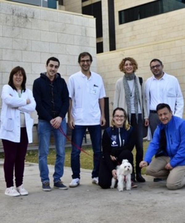 Baleares. Los pacientes de la UCI de Son Llàtzer ya pueden recibir las visitas de sus animales de compañía
