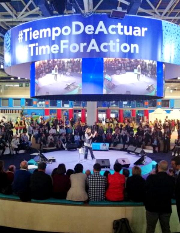 AMBILAMP da 'voz' a los más jóvenes en la COP25 Chile – Madrid 2019