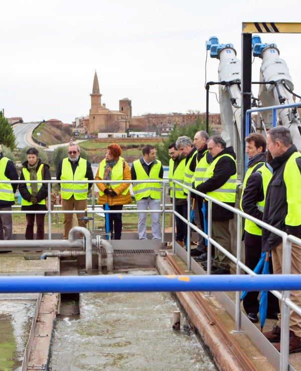 Navarra 'líder' en depuración y saneamiento de agua