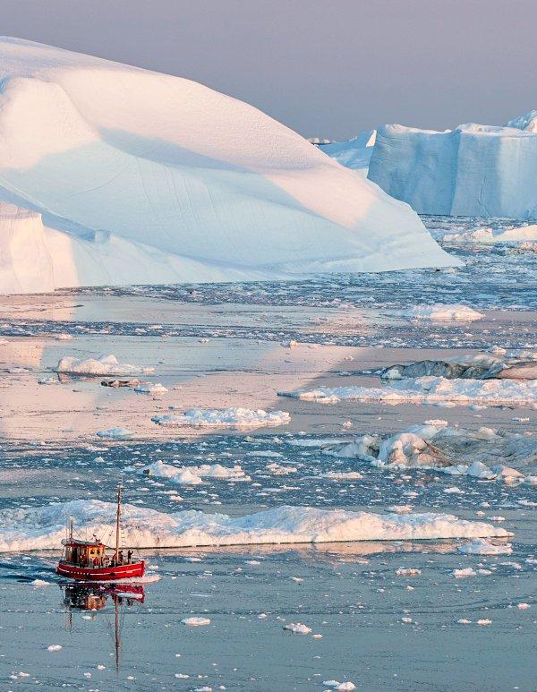 Aún no se puede determinar la cantidad de masa que se perderá en la Antártida y Groenlandia