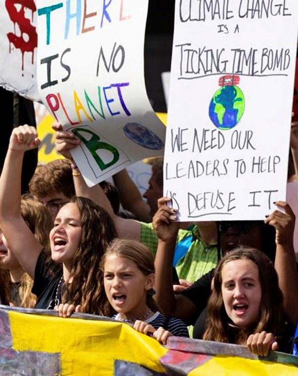 El año de las movilizaciones climáticas en España