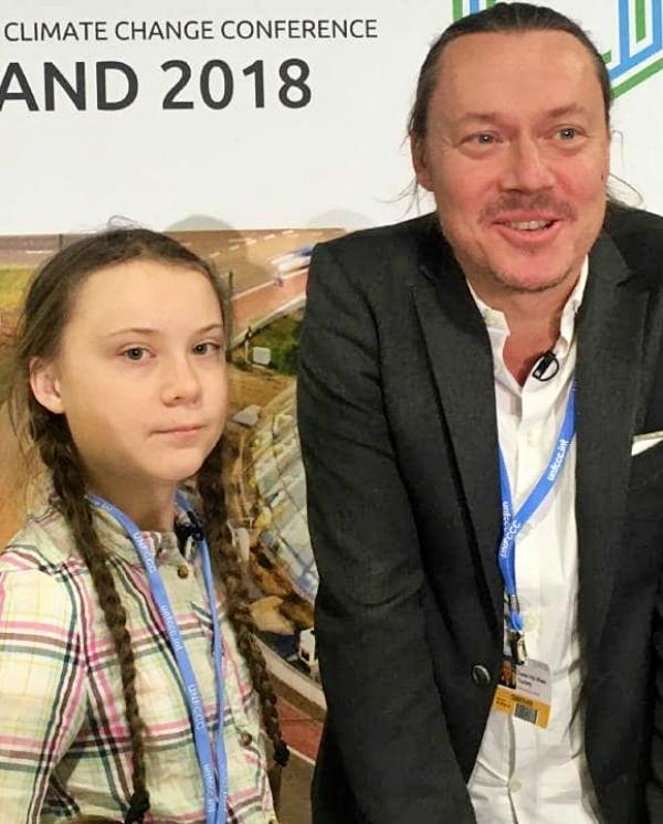 El 'padre' de Greta Thunberg habla sin ambages sobre su hija