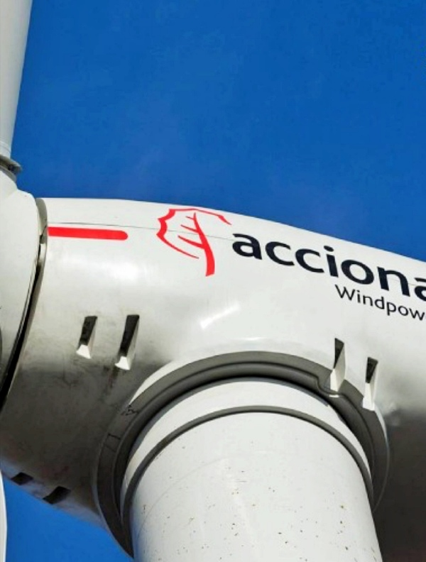 Acciona se refuerza en EE.UU al poner en marcha su nuevo parque eólico